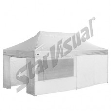 Gazebo pieghevole superprofessionale SUPER-ELEGANT 8x4 mt IMPERMEABILE con KIT PARETI